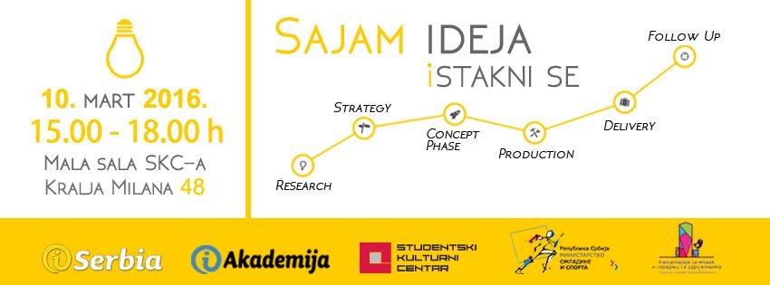 iSerbia organizuje Sajam ideja!